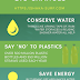 Small Actions Big Changes - Shaka Surf Infographic