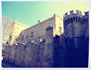 Rhodes, Grèce, colosse de Rhodes, chevaliers, unesco, mer égée