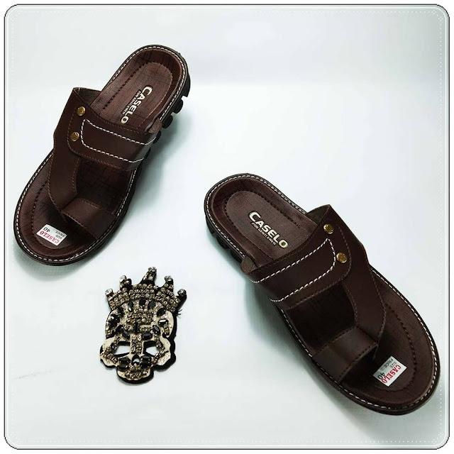 Grosir Sandal Imitasi Kulit Garut | Grosir Sandal Jepit - 082317553851