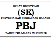 SK Petugas Pengadaan Barang Dan Jasa (PBJ) Pada Satuan Pendidikan