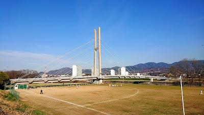 石川河川公園 西行うたのみち(富田林市)