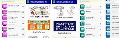 Aplikasi Belajar Bahasa Inggris Sehari-Hari