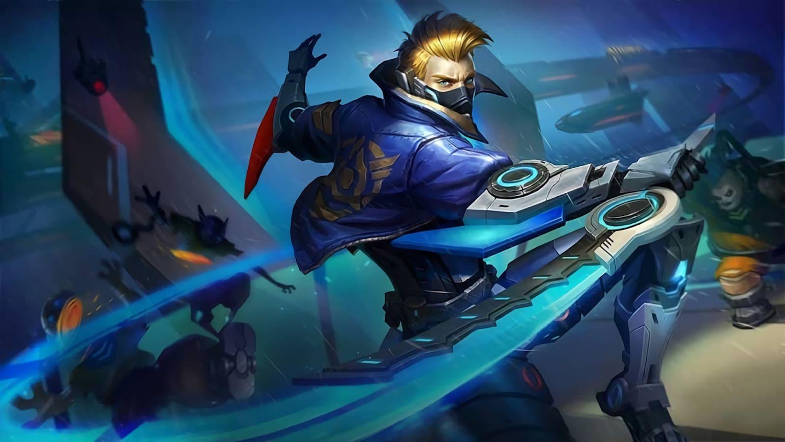 Wallpaper Hayabusa Future Enforcer Skin Mobile Legends HD for PC