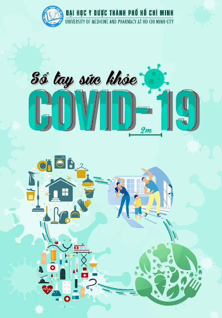 Sổ tay sức khỏe Covid-19 biên soạn Đại học Y Dược TP HCM