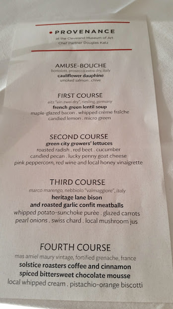 Eat Drink Cleveland Provenance Food And Wine Inspired