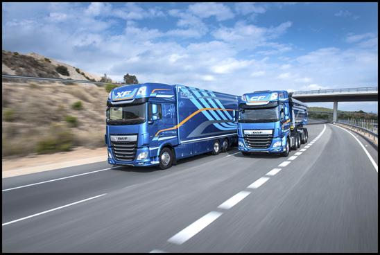 DAF XF and CF Trucks