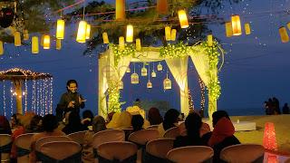 destination BEach wedding planner  stage decor kerala india
