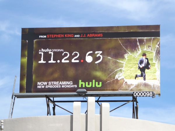 11 22 63 Hulu TV series billboard