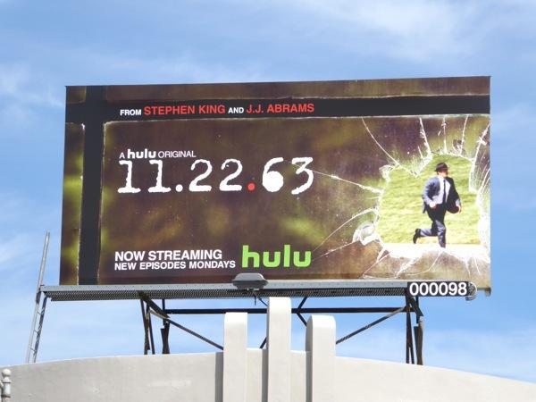 11 22 63 Hulu TV series billboard
