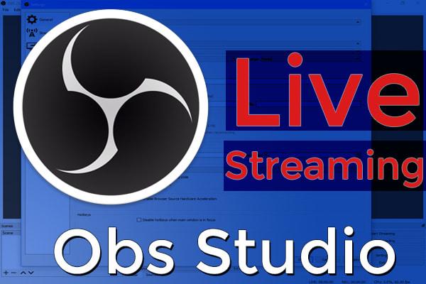 برنامج بث مباشر للكمبيوتر Obs