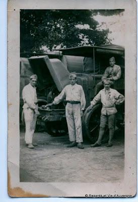 Photos anciennes noir et blanc guerre 1939-1945.