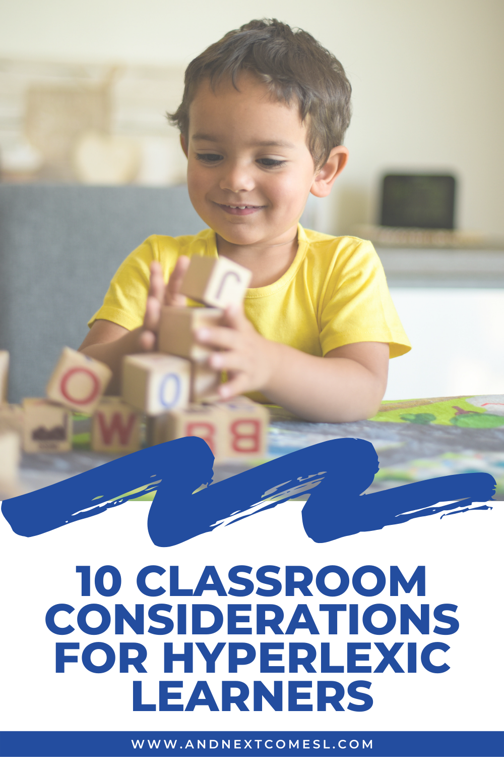 Important school classroom considerations for hyperlexic learners