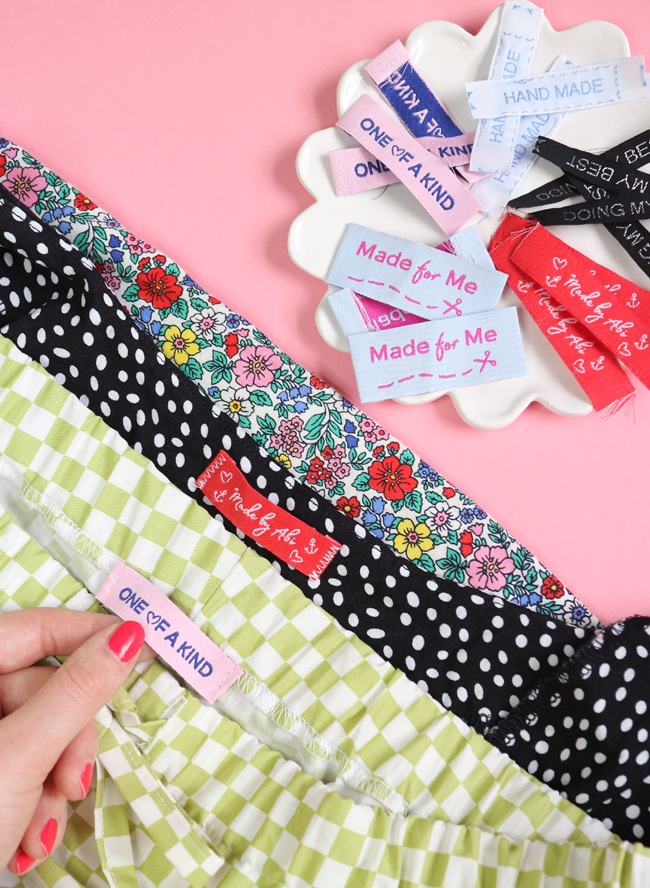 Design Your Own Cute & Colourful Woven Labels with Dortex Labels