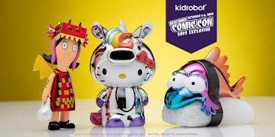 Kidrobot's New York Comic Con 2019 Exclusives – Hello Kitty, The Simpsons & Bob's Burgers!