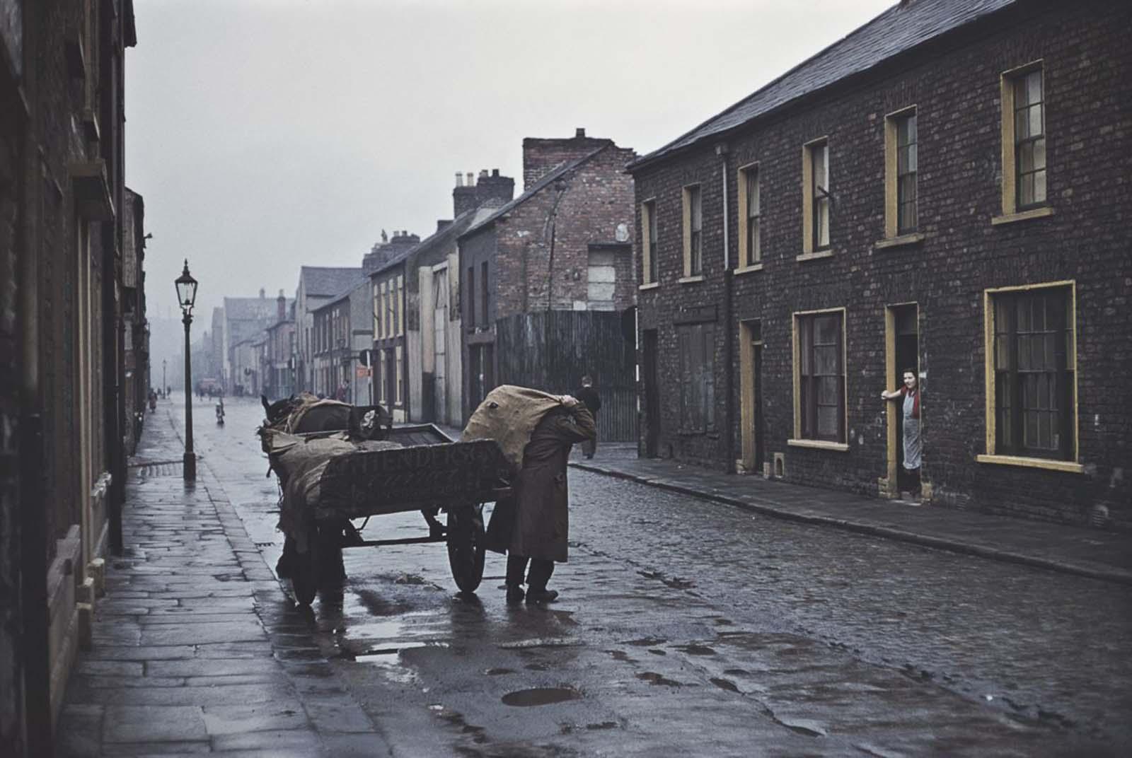 belfast old color photographs