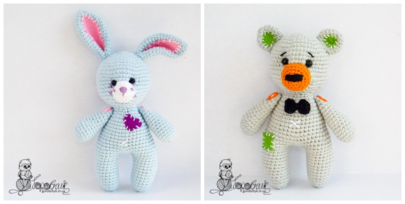 Amigurumi Free Patterns Bear : Amigurumi little bunny and bear free pattern amigurumi free patterns