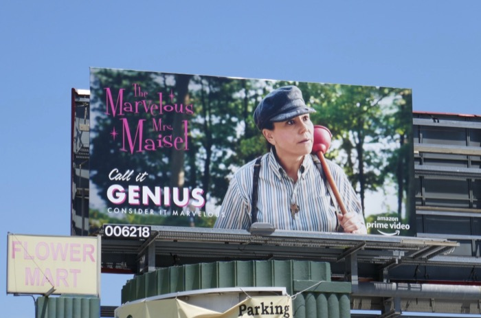 Mrs Maisel season 2 Call it Genius Emmy FYC billboard