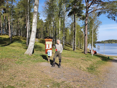 Malmköping, etappstart