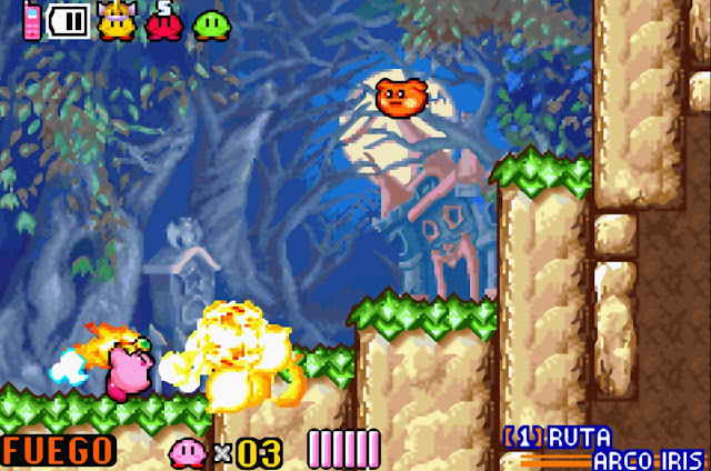 Kirby & the Amazing Mirror - Español - Captura 4