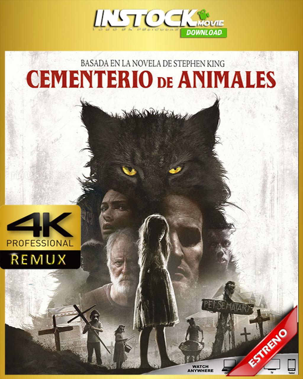 Cementerio Maldito (2019) 4K REMUX - InStock