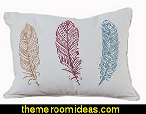 Wild and Untamed Feather Pillow