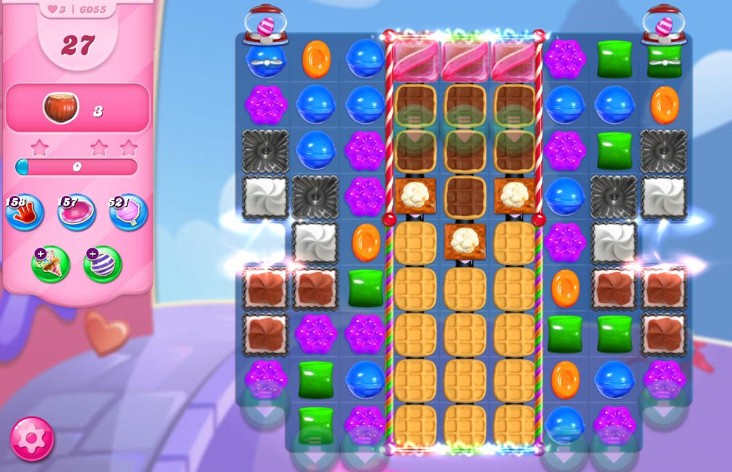 Candy Crush Saga level 6055