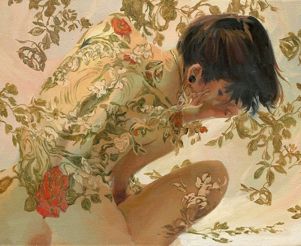 Painted Roses | Sergio Lopez 1983 | American Plein Air and Concept painter