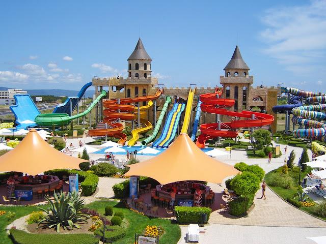 water parks in bulgaria