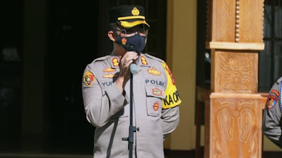 Pasca Bom Bunuh Diri, Kapolres Torut Perintahkan Tingkatkan Patroli dan Kewaspadaan