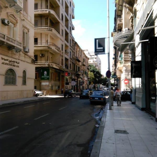 عبق التاريخ يفوح من شارع فؤاد بالإسكندرية