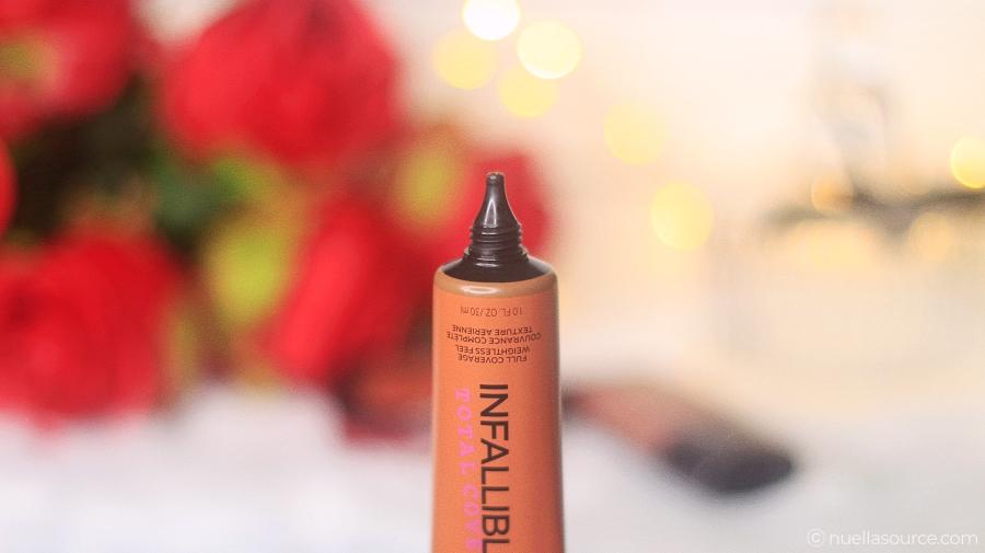 Fond de teint L'Oréal Total Cover Infaillible US avis