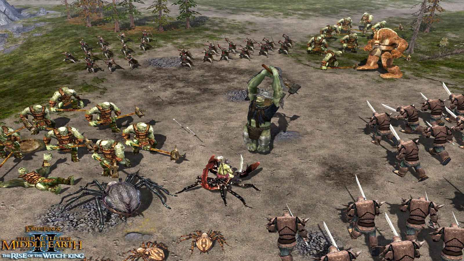 تحميل لعبة The Lord Of The Rings The Battle For Middle Earth 2 مضغوطة برابط واحد مباشر كاملة مجانا