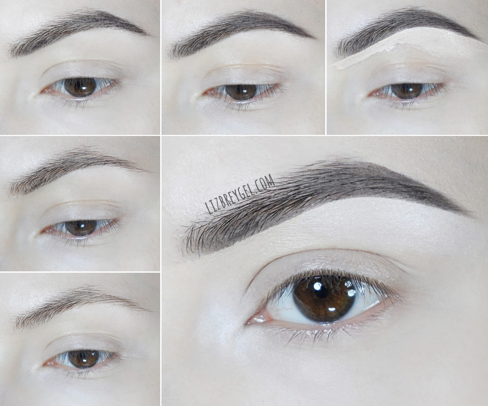 how to create full eyebrow makeup look celebrities with bushy eyebrows