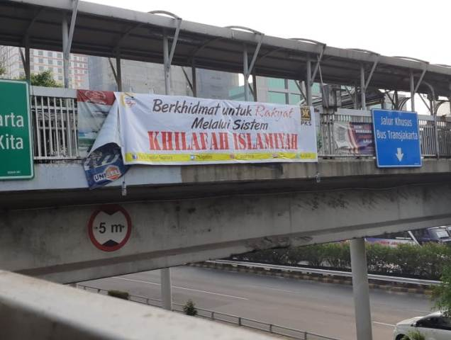 Soal Spanduk Khilafah, PKS Tuntut Polri Segera Ungkap Dalang