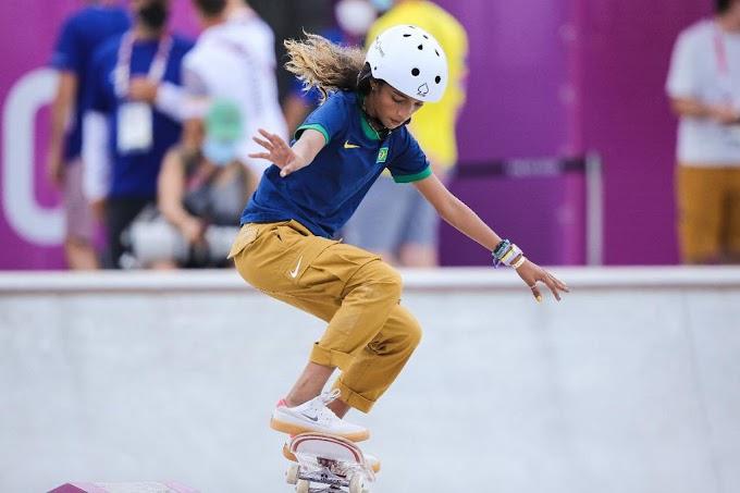 Skatista se torna a atleta mais jovem a conquistar uma medalha pelo Brasil nos Jogos Olímpicos
