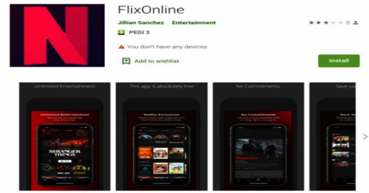 Malware Is Spread Via WhatsApp By A Fake Netflix App On The Google Play Store