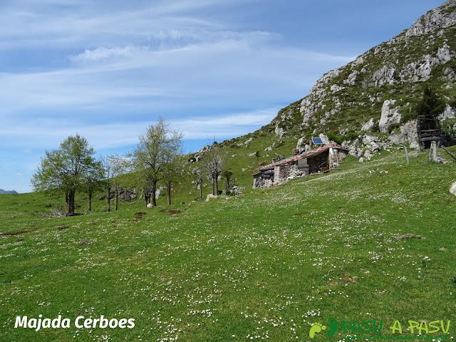 Ruta al Pierzu desde Priesca: Majada Cerboes
