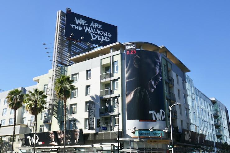 Walking Dead season 10 part 2 billboards
