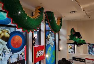La Lego Store de Leicester Square, Londres.