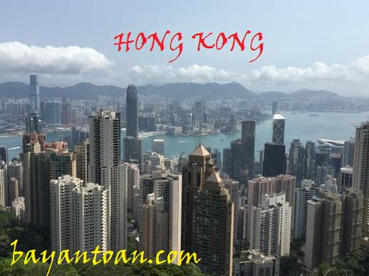 Thời gian cụ thể bay từ Việt Nam sang Hongkong và ngược lại