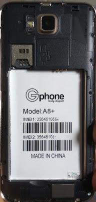 GPHONE A8 PLUS FLASH FILE