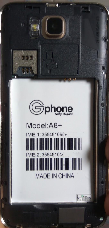 GPHONE A8 PLUS FLASH FILE MT6580 FIRMWARE