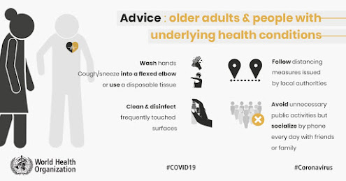 Advice for older adults World Health Organisation