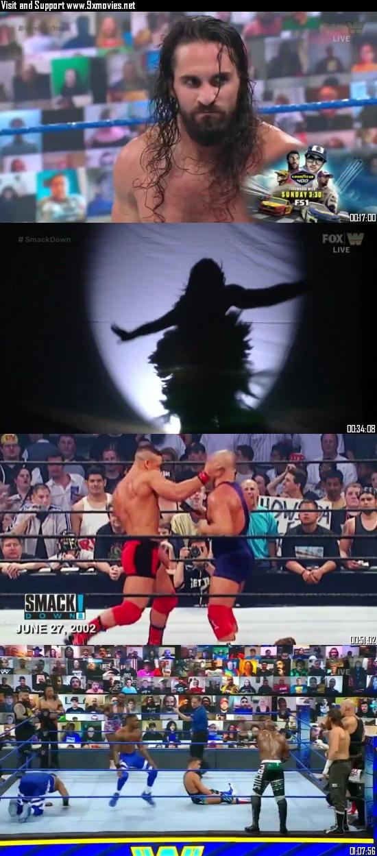 WWE Friday Night Smackdown 08 May 2021 HDTV 720p 480p 300MB