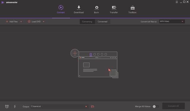 Screenshot Wondershare UniConverter 11.7.1.3 Full Version