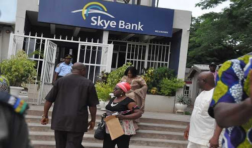 CBN Talks On Skye Bank Customers Money As CBN Revoked Skye Bank Lisence