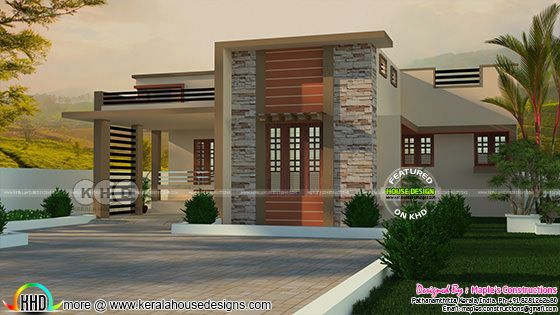 1353 square feet single floor 2 BHK home