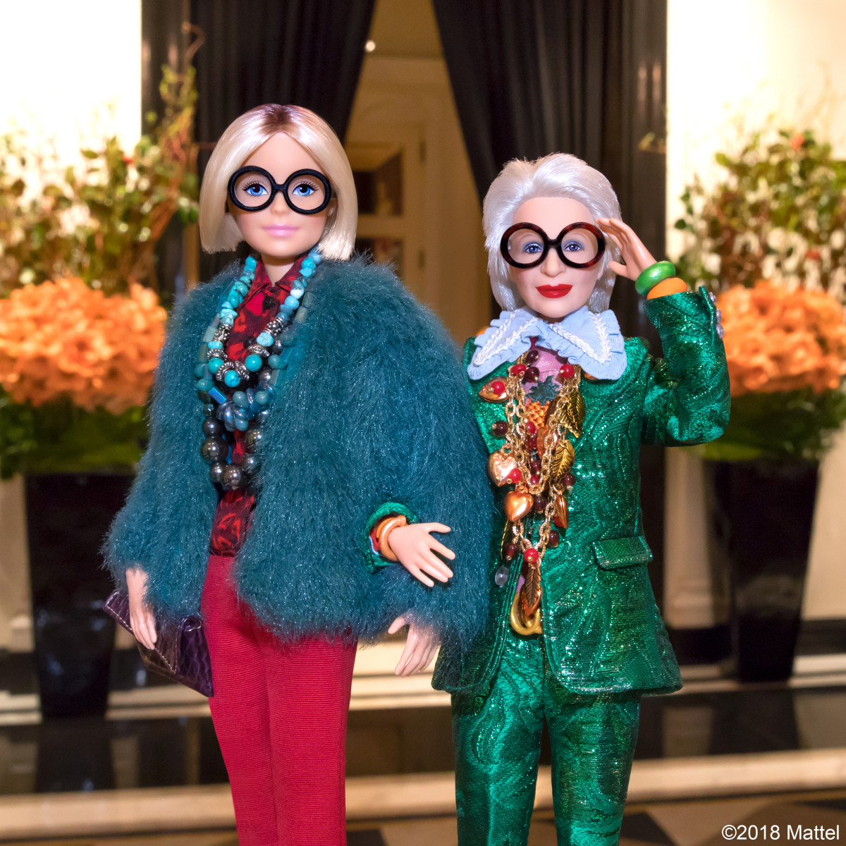 News on Fashion - Eniwhere Fashion - Iris Apfel x Barbie