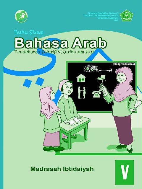 buku siswa mata pelajaran bahasa untuk kelas 5 madrasah ibtidaiyah pendekatan saintifik kurikulum 2013