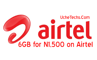 6GB for N1,500 on Airtel